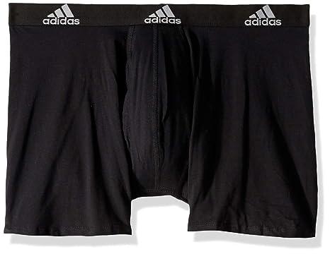 345f8611e370 Amazon.com  adidas Men s Stretch Cotton Boxer Briefs Underwear (3 ...
