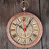 White Rabbit (Alice in Wonderland) HANDCRAFTED Backwards Wall Clock, Runs Counterclockwise and Reverse decorative wooden wall clocks