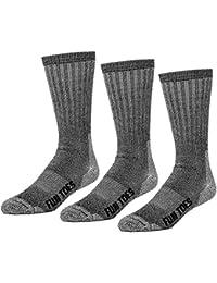 3 Pairs Thermal Insulated 80% Merino Wool Socks Men's, Hiking Size 8-12