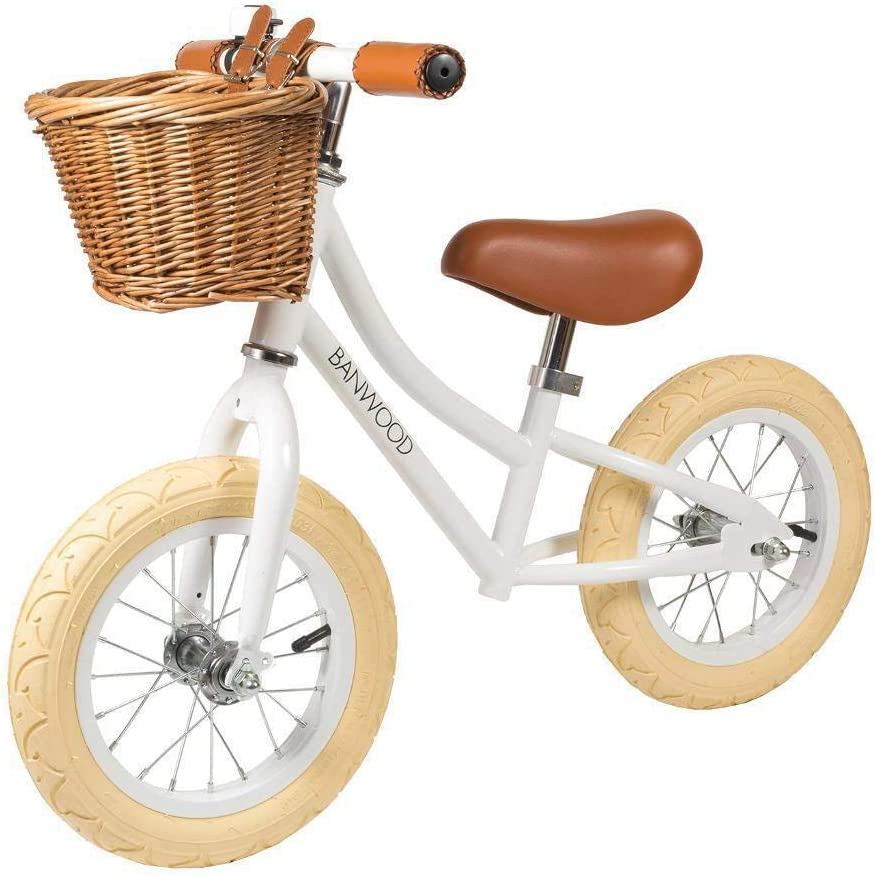 Banwood Balance Bike First Go Girl White