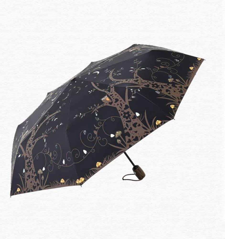 BiuTeFang Umbrellas UV protection sunny day dual-use umbrella vinyl umbrella umbrellas automatic umbrella 57x99cm