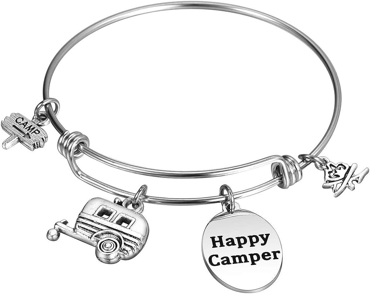 MIXJOY Happy Camper Charm...