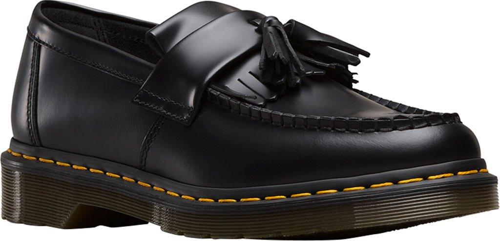 Dr.Martens Mens Adrian Leather Shoes 45 EU|Black