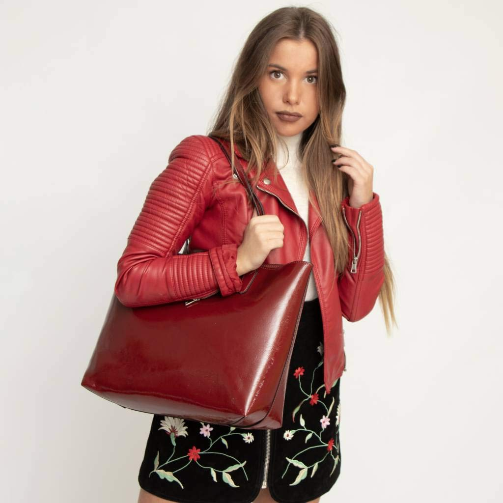 Marca GUESS Color Rojo Bolsos de Mano Merlot Modelo Bolsos De Mano GUESS HWPT73 01230 Rojo