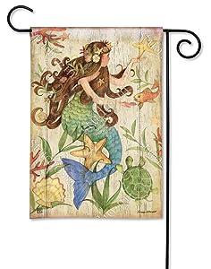 BreezeArt Studio M Mermaid Decorative Garden Flag – Premium Quality, 12.5 x 18 Inches