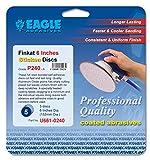 Eagle U661-0240 - 6 inch Finkat Stickon Discs - Grit P240 - (Job-Pak) - 5 Discs/Pack - 1 Pack