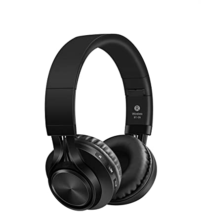 Sound One BT-06 Bluetooth Headphones (Black): Buy Sound One BT-06 Bluetooth  Headphones (Black) Online at Low Price in India - Amazon.in