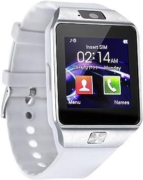Reloj inteligente dz09 reloj inteligente SIM TF tarjeta de apoyo ...