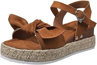 Women's Platform Sandals Casual Ankle