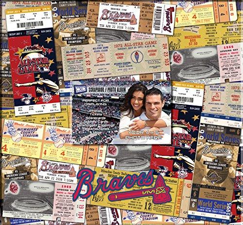 MLB Atlanta Braves 12x12 Scrapbook