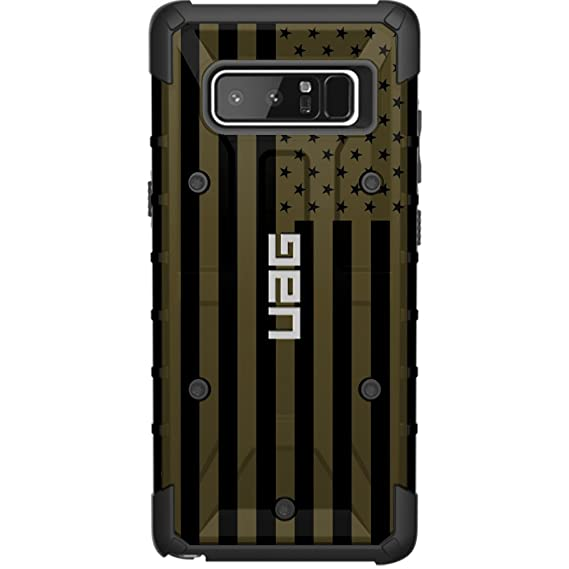 new product d558f 7c536 Limited Edition - Authentic UAG- Urban Armor Gear Case for Samsung Galaxy  Note 8 Custom by EGO Tactical- USA Flag ODG- Olive Drab Green