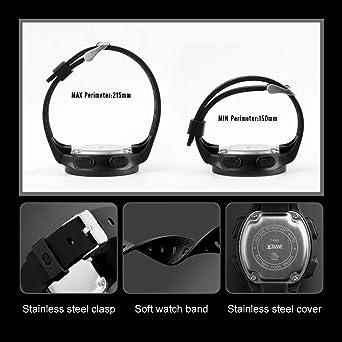 Amazon.com: Reloj digital deportivo para niños, resistente ...