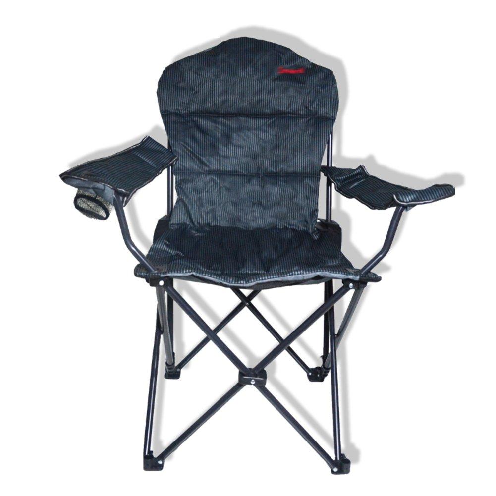 HMWPB Camping Klappstuhl Außen,Portable Campingstühle Liege Verstellbar Angeln Stuhl Mit Becherhalter Sessel Faltbare Stühle Für Camping Wandern Strand Angeln Garten