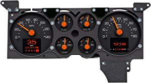 Dakota Digital RTX-78C-MC-X Compatible with 1978-85 Chevy Monte Carlo Early Design Style Retrotech Gauge System