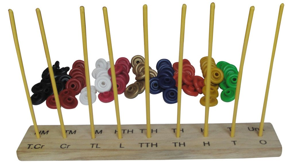 9 Spikes Abacus Wisetime