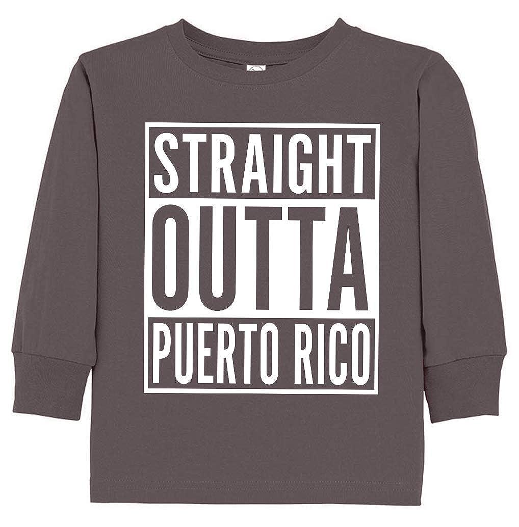Tenacitee Babys Straight Outta Puerto Rico Shirt