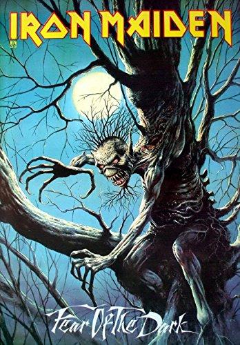 Iron Maiden: Fear of the Dark Eddie's Artwork Band Music Poster Im-05