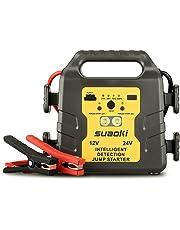 SUAOKI G19 Avviatore di Emergenza Auto 24V 12V 500A 1000A 24000mAh per Camion Autobus Barche RV Moto