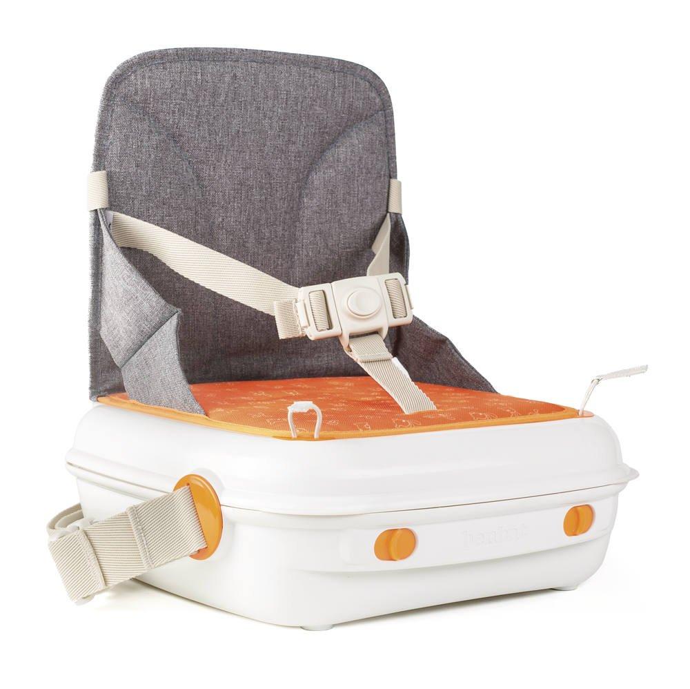 Benbat YummiGo Booster Seat, Grey/White