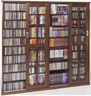 Amazon.com: Leslie Dame MS-1400 Mission Style Multimedia Storage ...