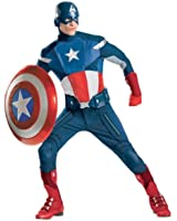Adult The Avengers Captain America Theatrical Costume - 2 sizes