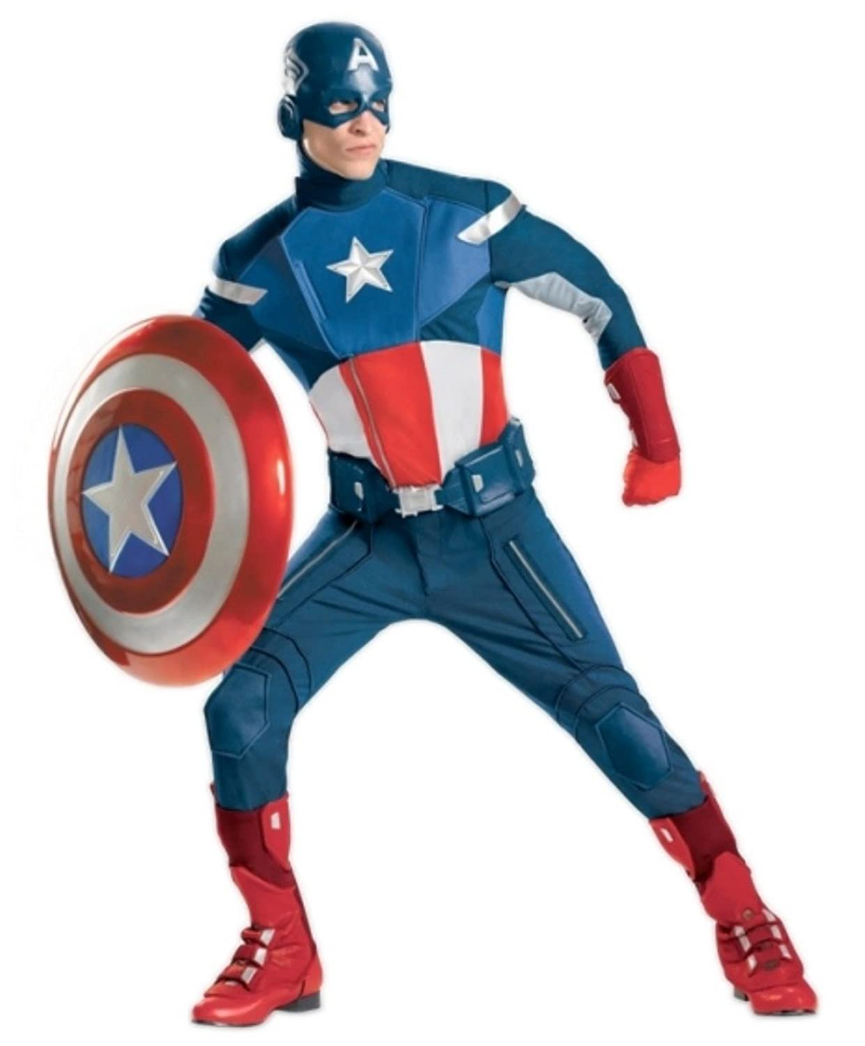 Adult Captain America: The Avengers Costume - DeluxeAdultCostumes.com
