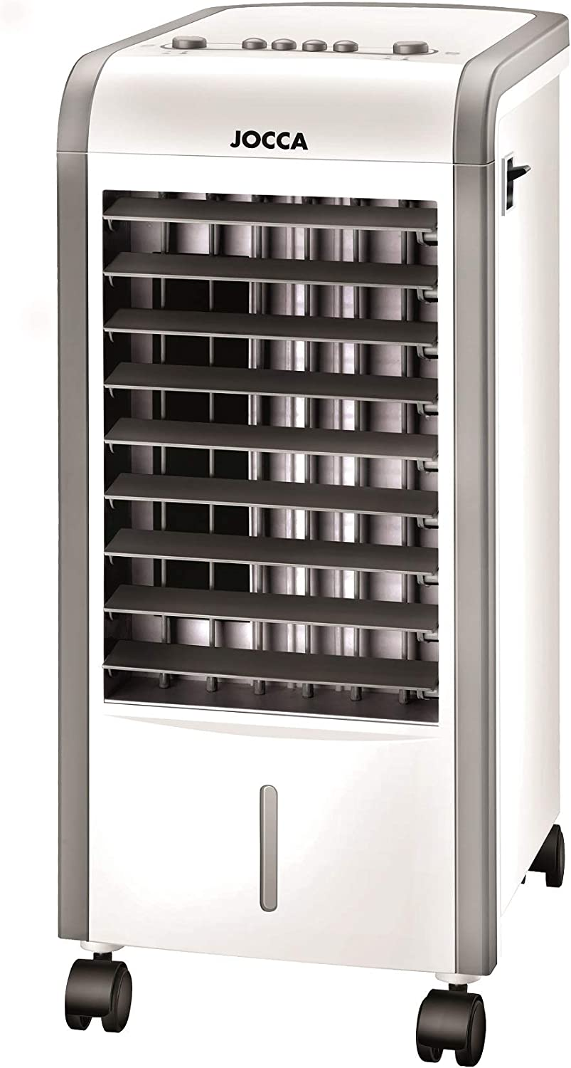 Climatizador Frio Y Calor // 3 en 1: Humidifca, calienta y/o enfria // Cooling Power 80w. Heating Power 2000W