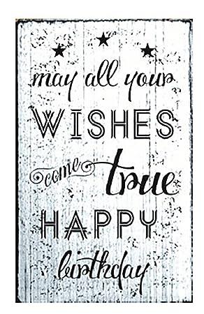 Refranes puede todos tus deseos Come True feliz cumpleaños ...