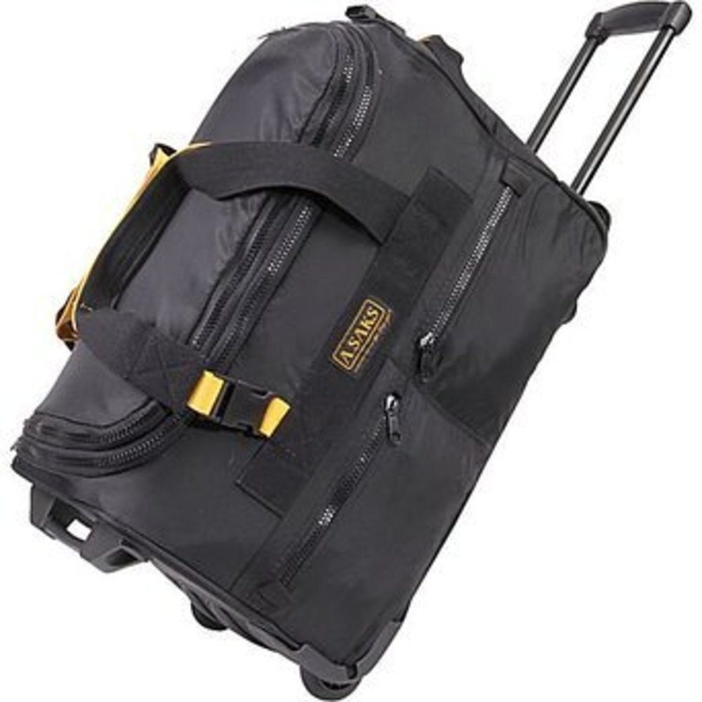A.SAKS On The Go 20'' Expandable Wheeled Duffel Bag