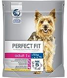 Perfect Fit Hundefutter Trockenfutter Adult für Hunde unter 10 kg mit Huhn 1+, 5 Packungen (5 x 825 g)
