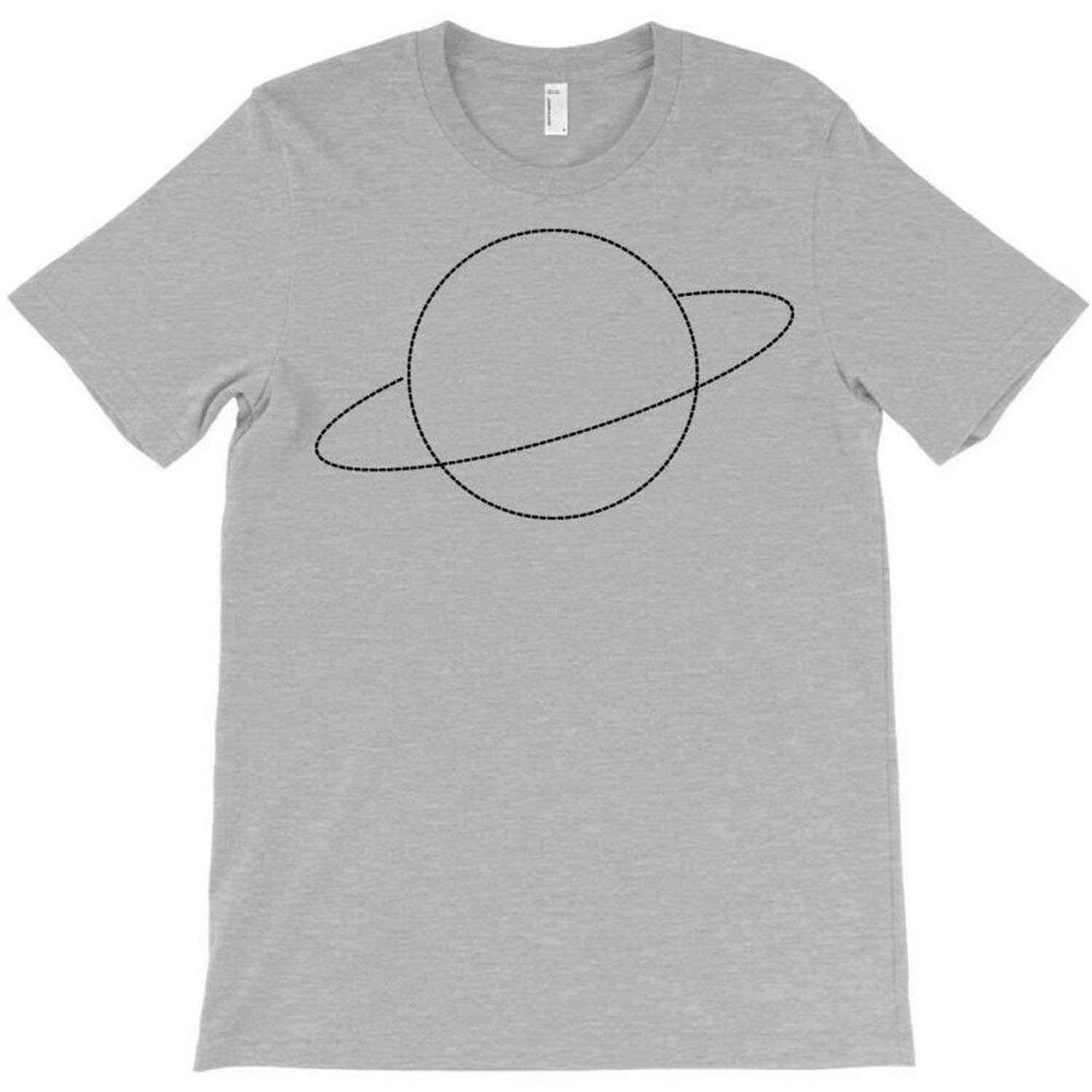 Unisex Baby Casual Shirt Minimal Cute Planet T-Shirt