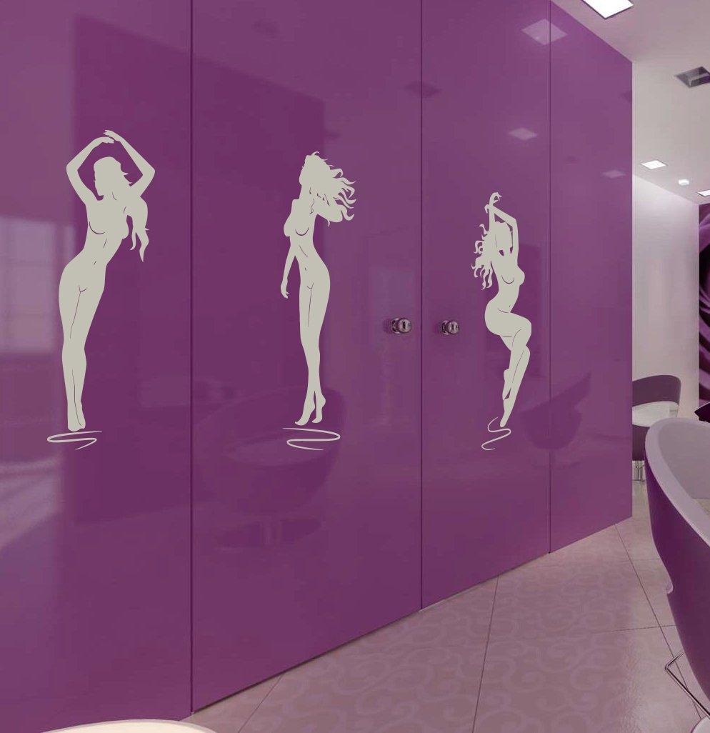 Spa Beauty Girl a Slim Body Kids Room Children Stylish Wall Art Sticker Decal G9355