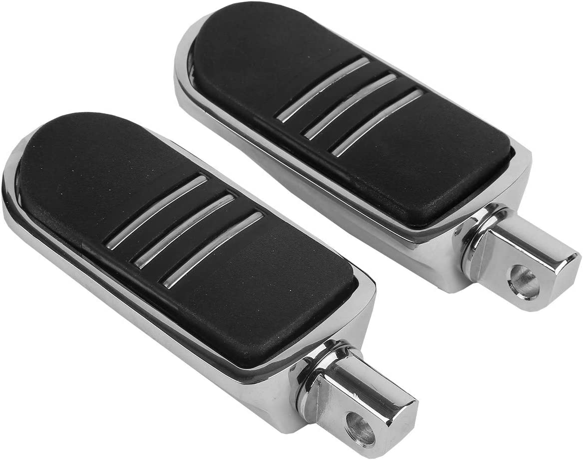 Harley-Davidson Touring and Softail Models Dyna Sportster 883 1200 Motorcycle Footboards plating Foot pegs Footrest Footboards For 1986 Chrome