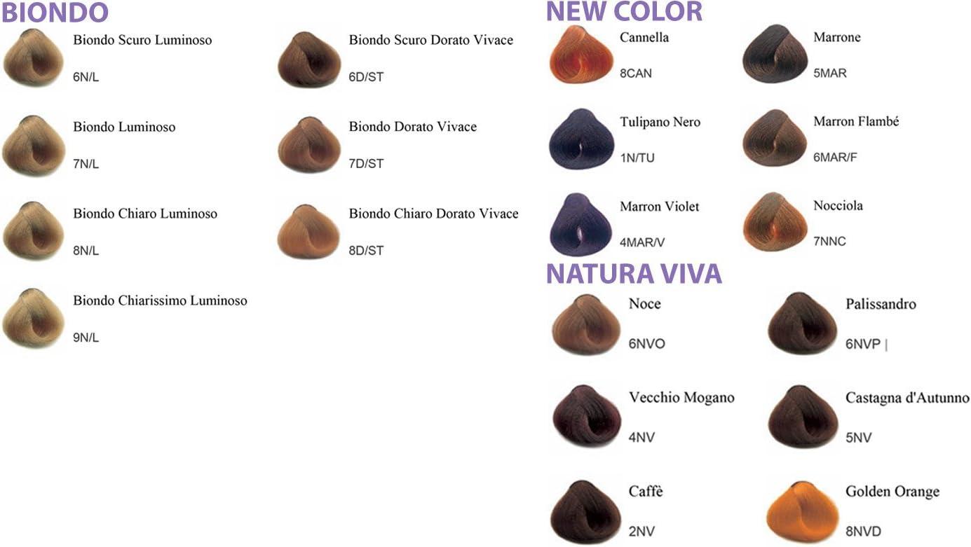 Tinte Pelo Profesional para Peluquería alle Hierbas Color ...