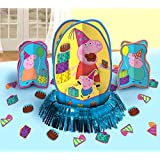 Peppa Pig Party Table Decorations Kit (Centerpiece Kit) 23 PCS - Kids Birthday and Party Supplies Decoration
