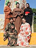 RaanPahMuang Long Kimono Robes for Women, Japanese