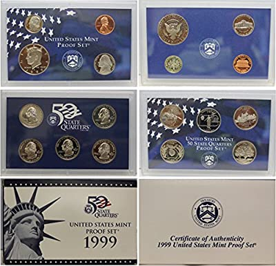 1999 S Proof Set Uncirculated