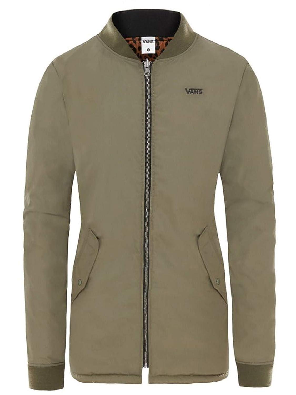 24173278487e3 Vans Women's Boom Boom Reversible Long II MTE Jacket - Dusty Olive