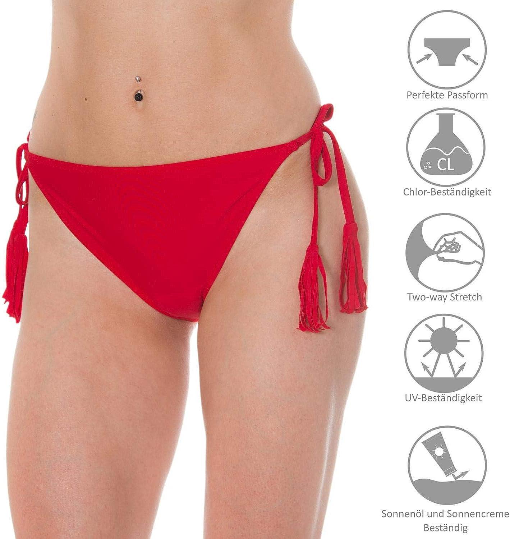 Aquarti Slip Bikini da Donna Laterali Bound