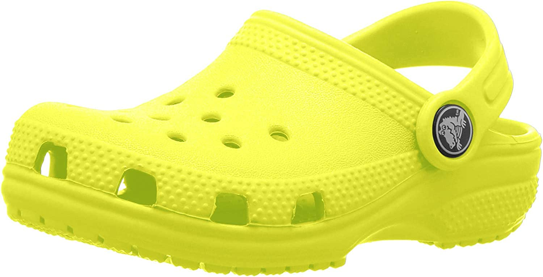 Crocs Classic Clog Kids Roomy Fit, Zuecos Unisex Niños