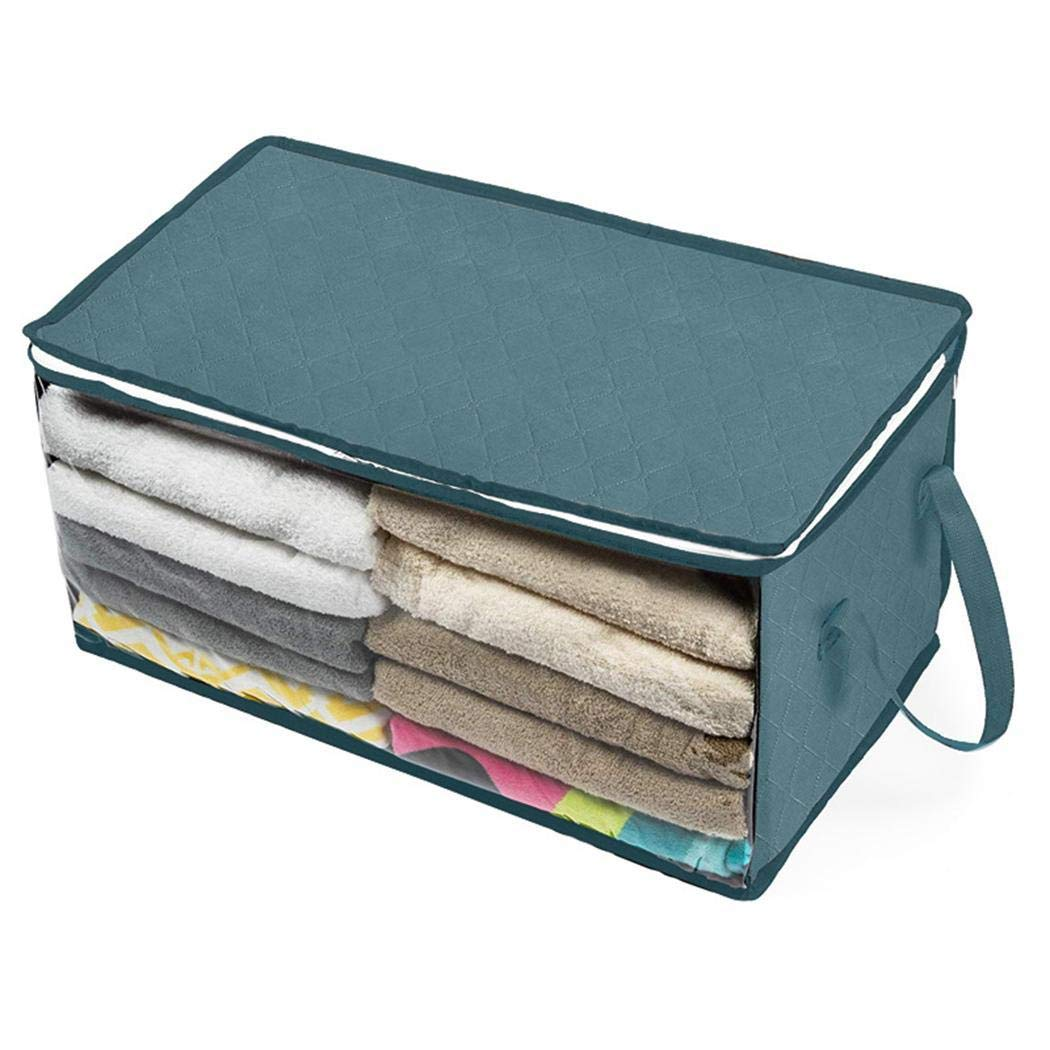 Zippem Foldable Storage Bag Home Clothes Dustproof Moisture-proof Storage Box Drawer Organizers