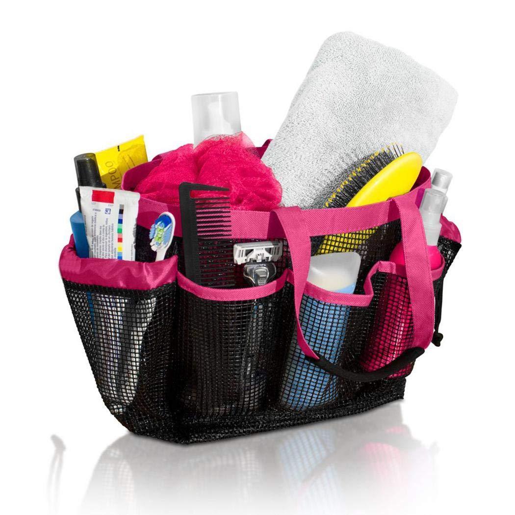 Sapone e Altri Accessori da Bagno balsamo fnemo Borsa da Doccia,Bagno Doccia a Caddy Quick Dry Organizer per Shampoo