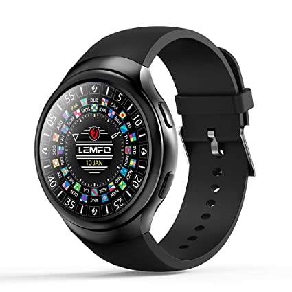 Amazon.com: PINCHU LES2 Smart Watches Smartwatch Android 1GB ...