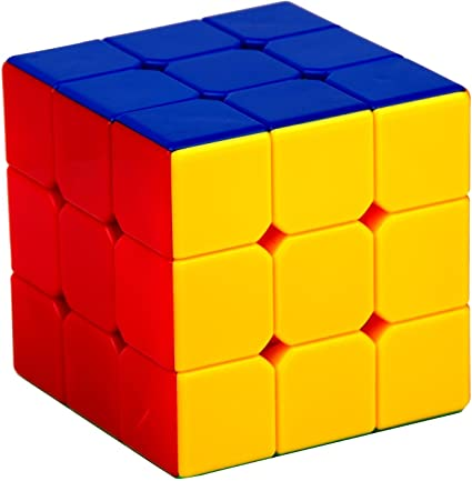 Shreeja Collections-High Stability Stickerless 3x3x3 Magic Speed Cube