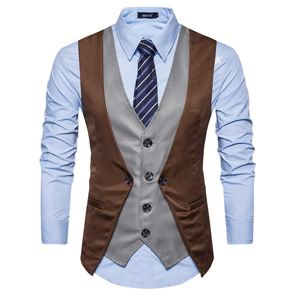 suit women Mens Formal Slim Fit Business Dress Suit Button Down Vests Wedding Waistcoat
