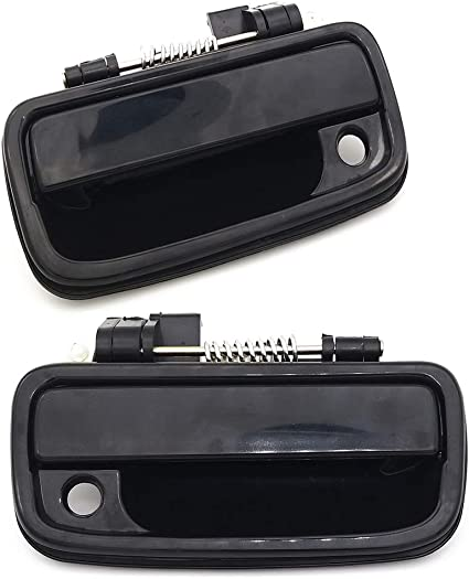 Exterior Outside Door Handle for Toyota Tacoma 1995 1996 1997 1998 1999 2000 2001 2002 2003 2004 2Pcs Front Driver /& Passenger Side Replacement 6922035020 6921035020