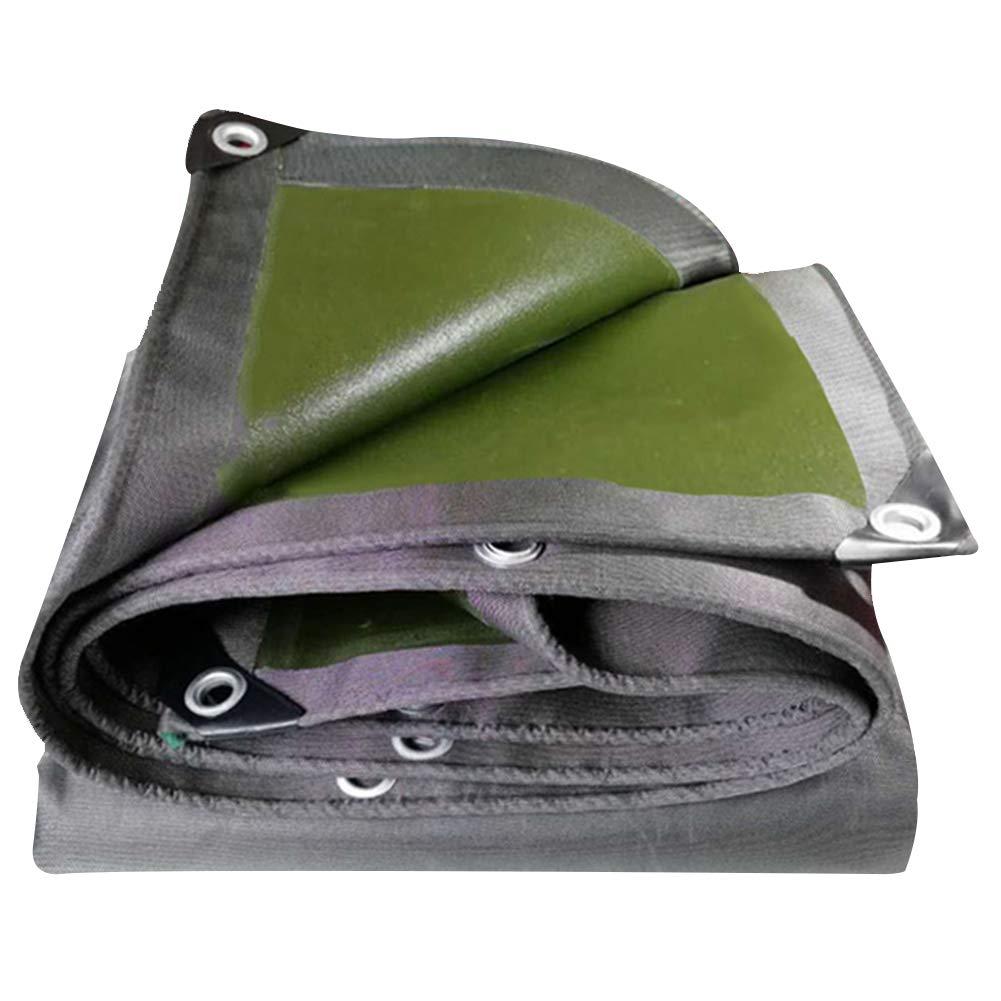 GUOWEI-pengbu ターポリン シェード 日焼け止め 防水 断熱 防風 防塵 アウトドア 厚さ0.75mm (色 : Gray, サイズ さいず : 1.8X6.8M) 1.8X6.8M Gray B07JBHLDCW