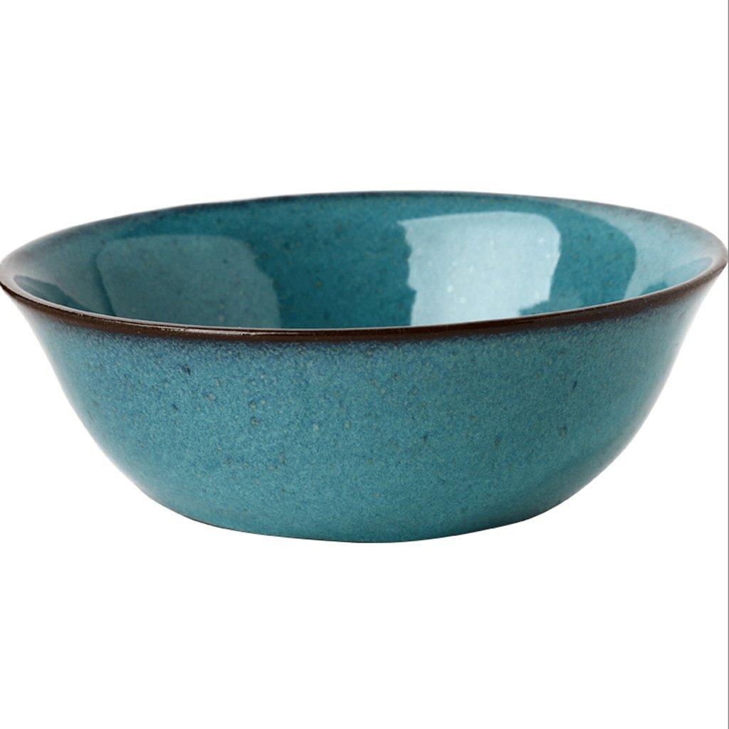セラミックボウルサラダボウルスープボウル7インチRice Bowl Householdカトラリー B07F8T6T16