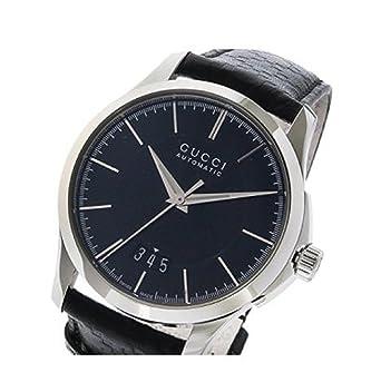 0a18bc5fdab1 グッチ Gタイムレス G-TIMELESS 自動巻き メンズ 腕時計 YA126430 ブラック [並行輸入品