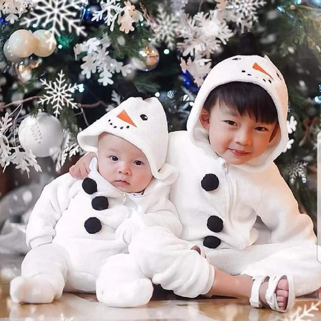 und Winter Overall OVINEE Baby Overall Kleinkind Baby Boy Girl Weihnachten Schneemann Cosplay Kost/üm Strampler Overall Kleidung Weich und warm Herbst